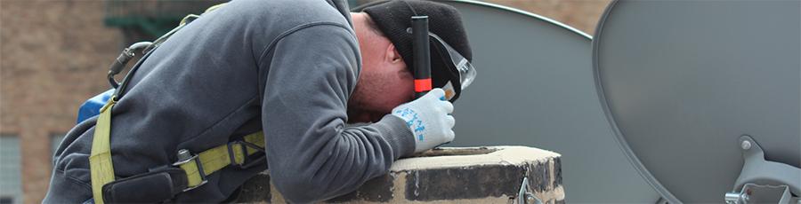 Inšpekcia komína s kamerou